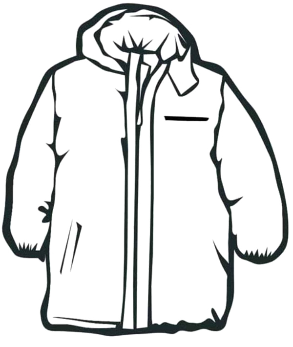 Hood clipart winter coat For kids Winter for Clothes