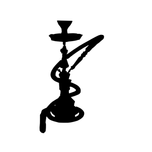 Hookah clipart black and white  cliparts Dtl Hookah (wmf