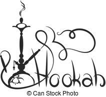 Hookah clipart abstract Unique silhouette Hookah Vector Hookah