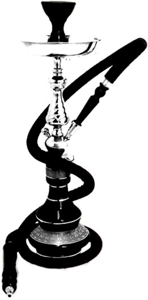 Hookah clipart black and white Online art March this image