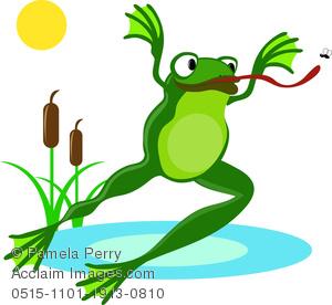 Tree Frog clipart hop #14