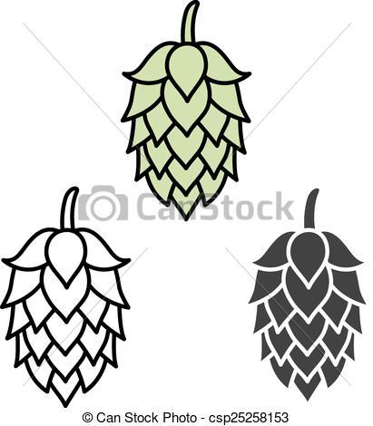 Hop clipart vector Beer sign craft beer beer