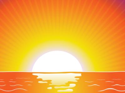 Horizon clipart Sunrise Sunrise Clip Clip Art