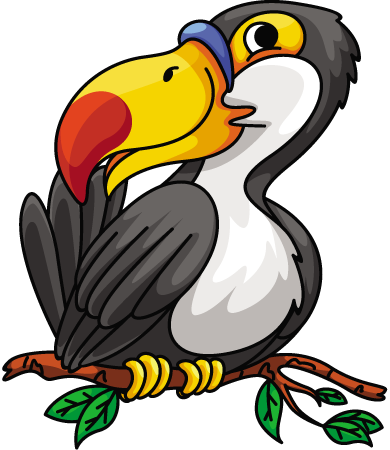 Hornbill clipart On on 1designshop Branch hornbill