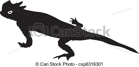 Horned Lizard clipart Art Illustrations 563 lizard horned