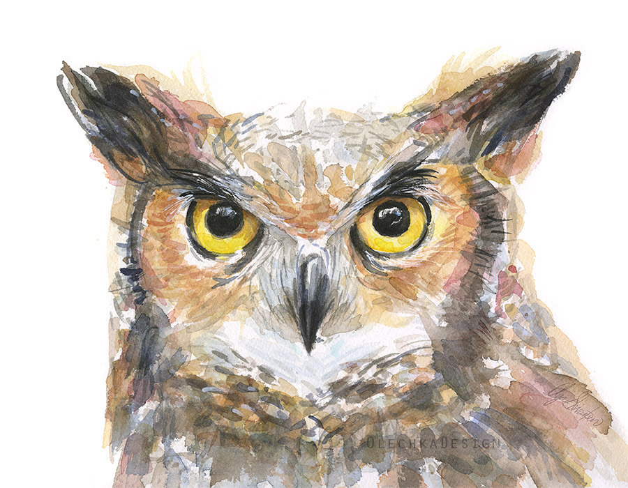 Horned Owl clipart #20 clipart Download clipart Owl