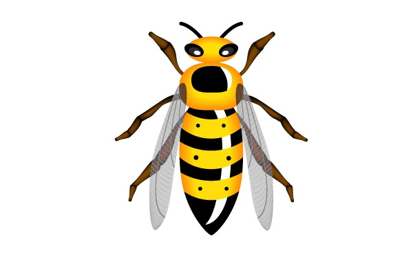 Hornet clipart Images Free Clip Clipart Red