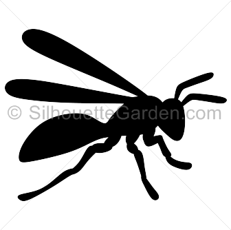 Hornet clipart black and white Top Clipart Hornet Art 53