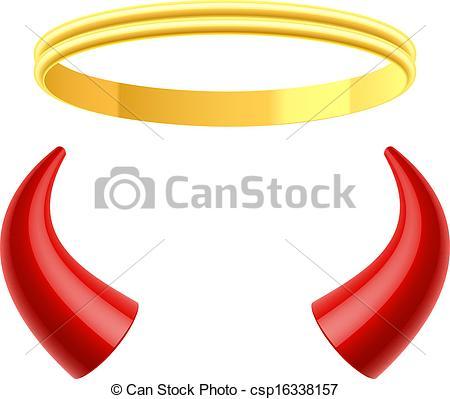 Horns clipart Horn Art  Royalty EPS