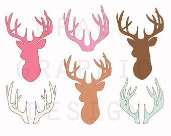 Buck clipart little money Etsy Vector Deer Deer Use