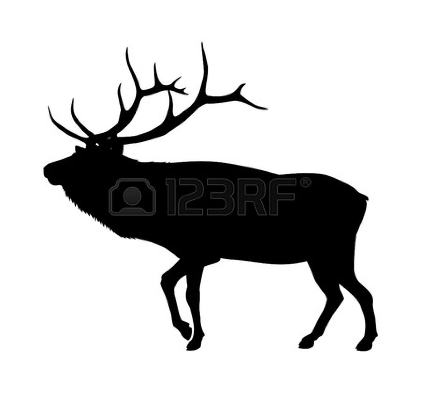 Buck clipart elk antler Clip Free Clipart Images Panda