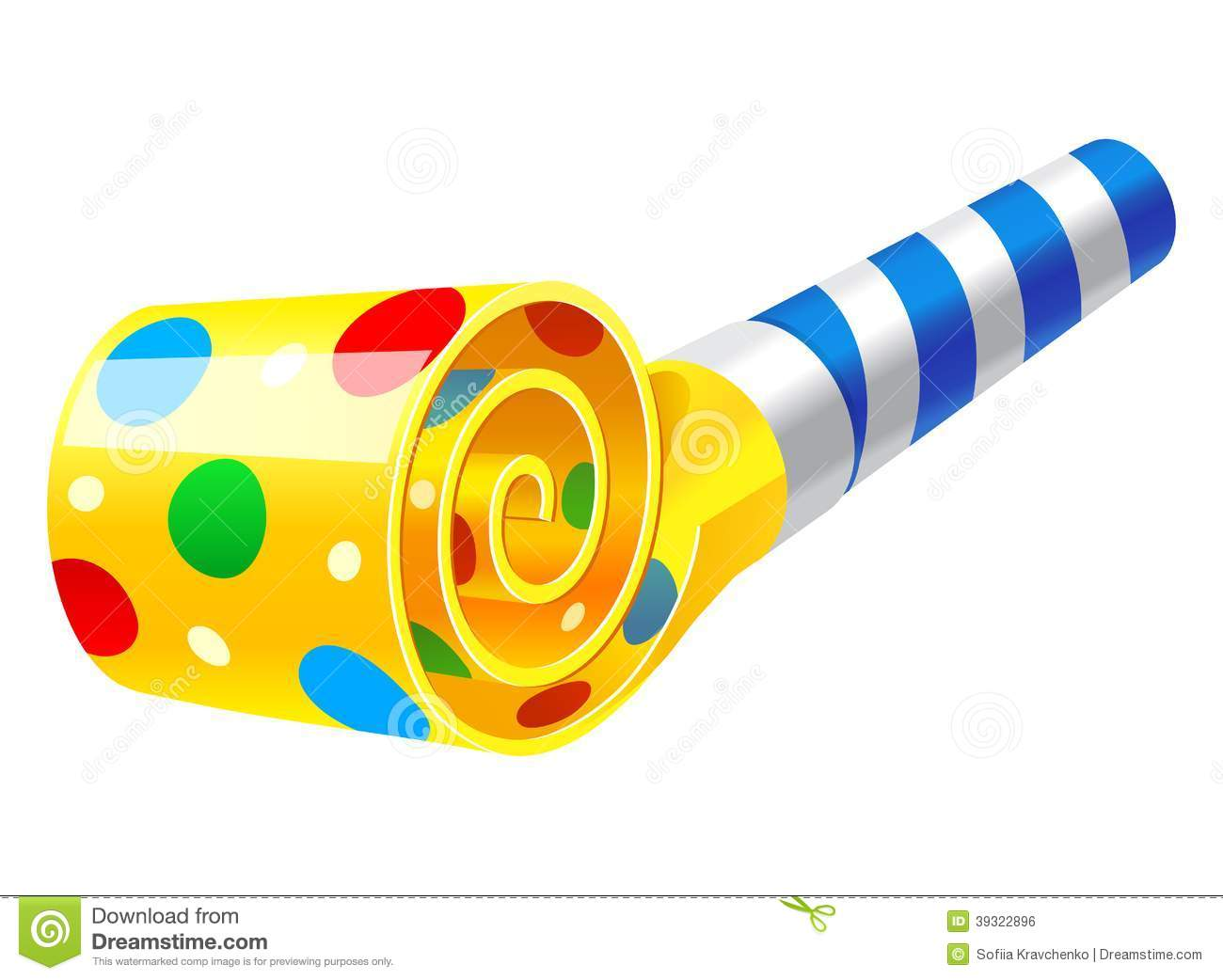 Party clipart party horn Year Horns Party Gallery —