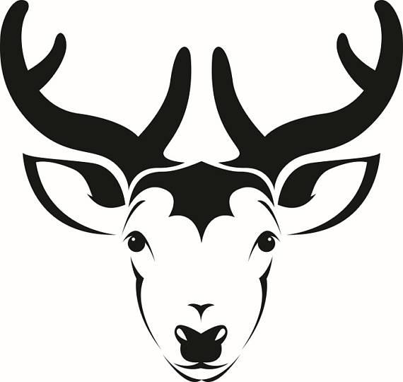 Horns clipart wildlife Vector Space Wildlife Cutting Clipart
