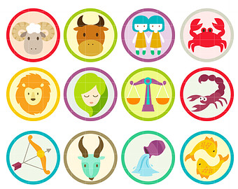Zodiac Sign clipart earth Clip signs Toppers Horoscope Signs