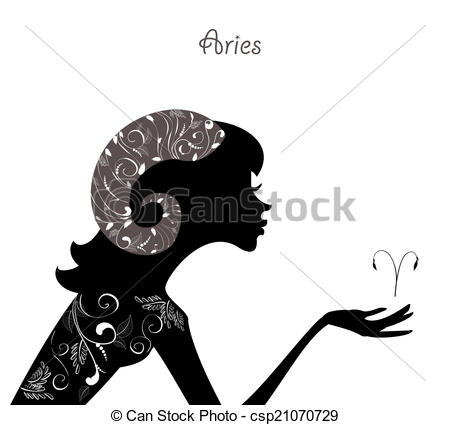 Horoscope clipart aries Sign csp21070729 of fashion Zodiac