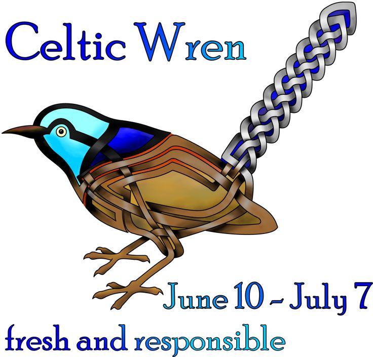 Wren clipart irish  animals 13 on celtic
