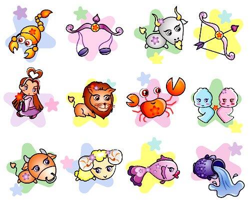 Zodiac clipart cute Signs signs Google cute Signs