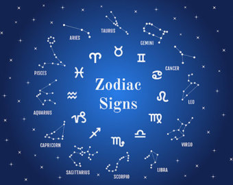 Horoscope clipart star sign #7