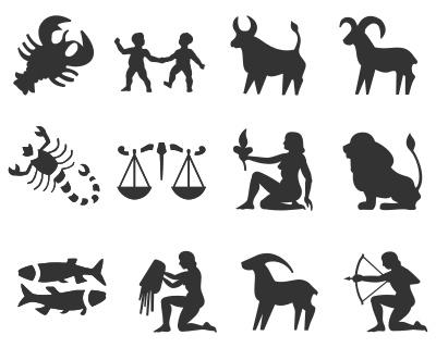 Zodiac clipart silhouette Just Free Tribal Tattoo Silhouette