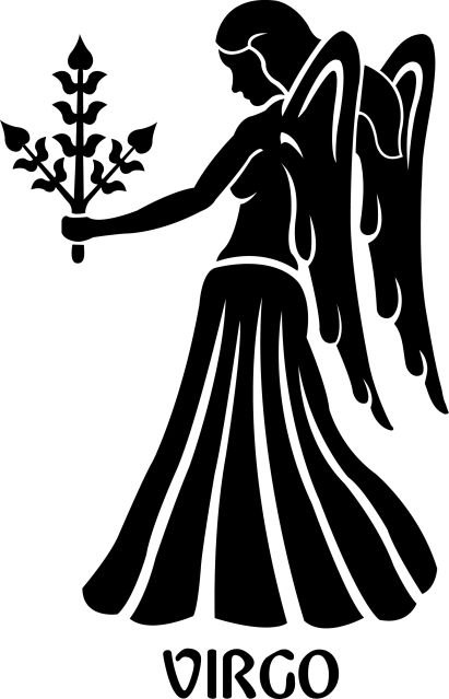 Zodiac clipart virgo Removable Decal about Virgo Symbol