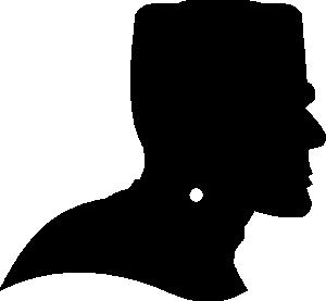 Horror clipart Profile Horror Monster Dingbat Frankenstein