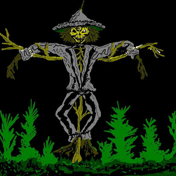 Scarecrow clipart creepy Scary Horror Clipart Scarecrow cliparts
