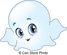 Ghostly clipart not #1