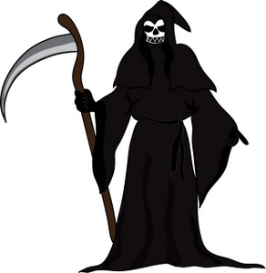 Horror clipart death rate #2