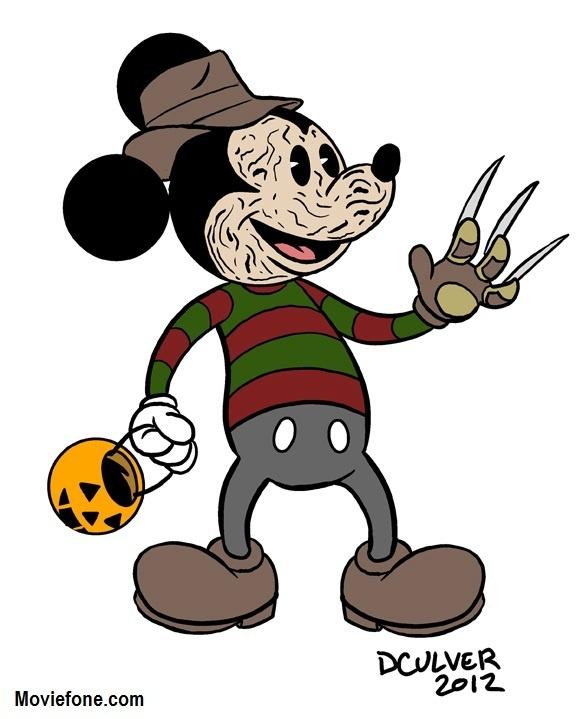 Horror clipart disney character halloween PicsDisney about CartoonsHalloween Mouse Halloween
