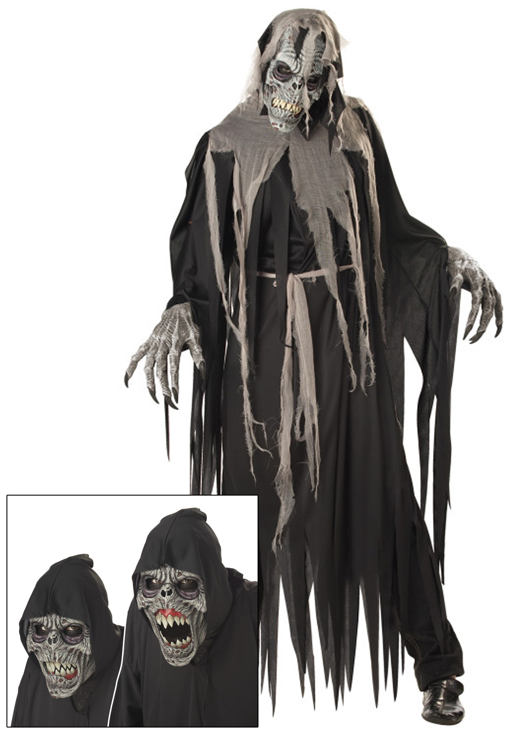 Horror clipart ghost costume Ghost Costume Crawler Costume Halloween