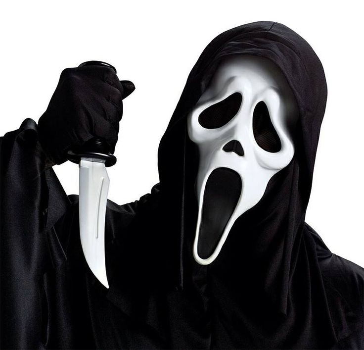 Screaming clipart ghost face The movie Ghostface perfect On