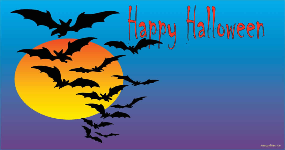 Bat clipart creepy halloween Halloween x 1140 Computer fly