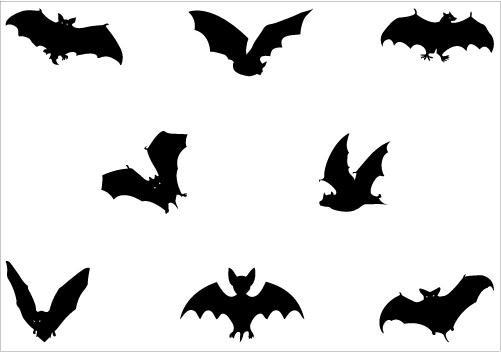Bird clipart bat Archives Vector Graphics Silhouette Archives