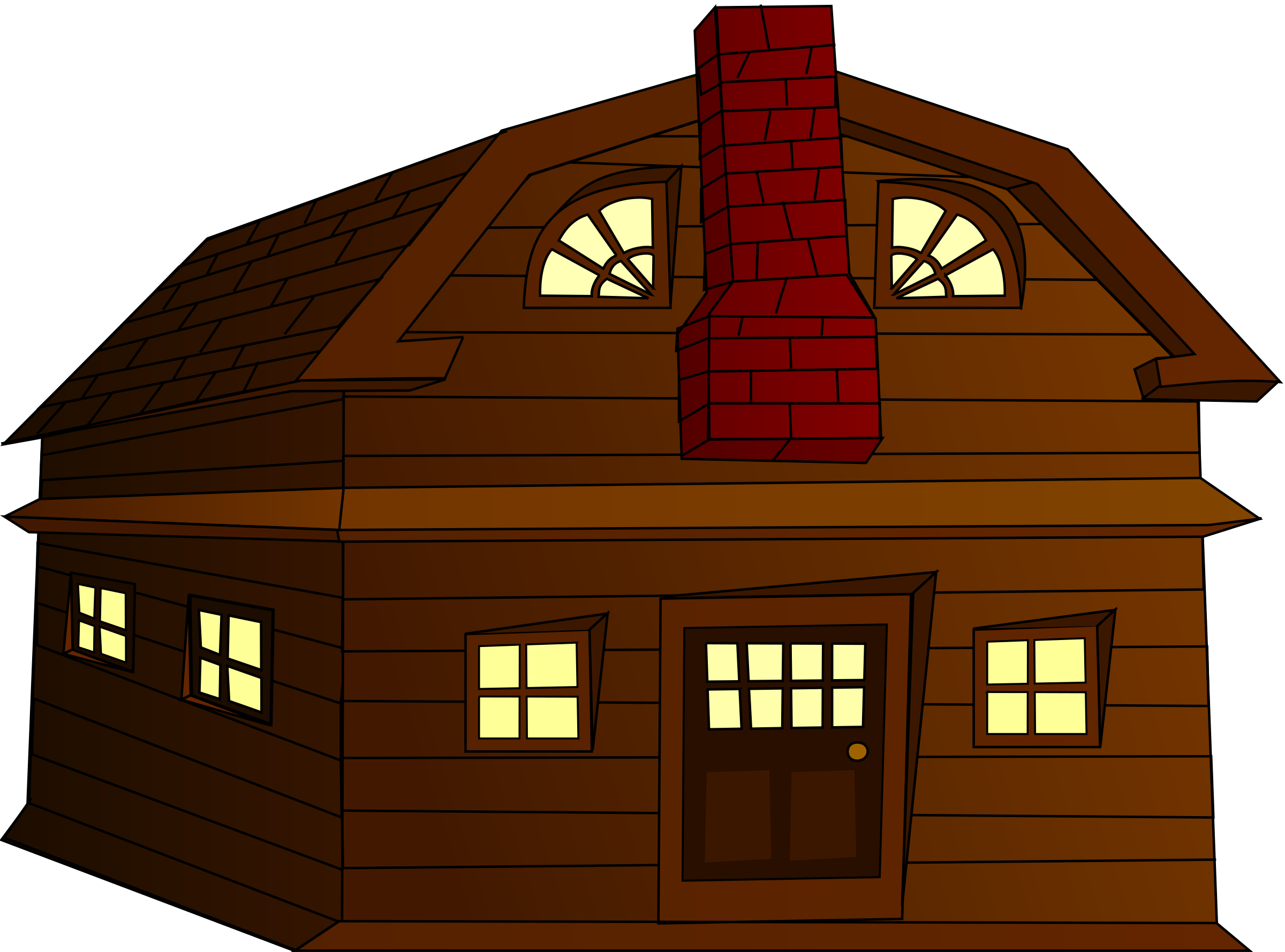 House clipart big and small Halloween Horror House Clipart Halloween