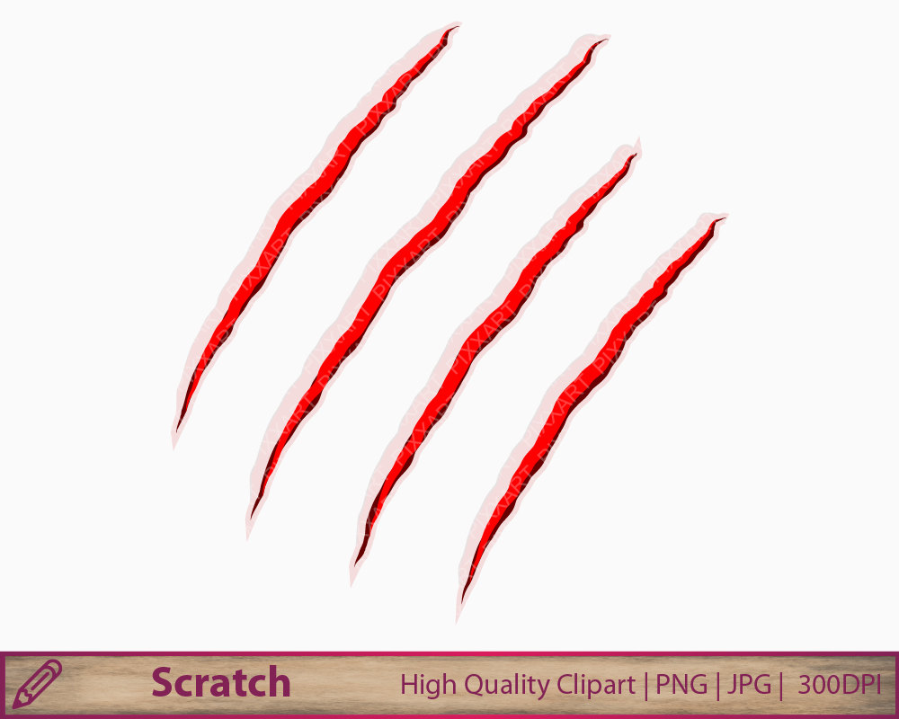 Scratches clipart drawing Download drawings clipart Horror clipart