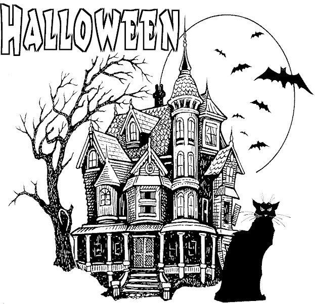 Horror clipart kids halloween #7