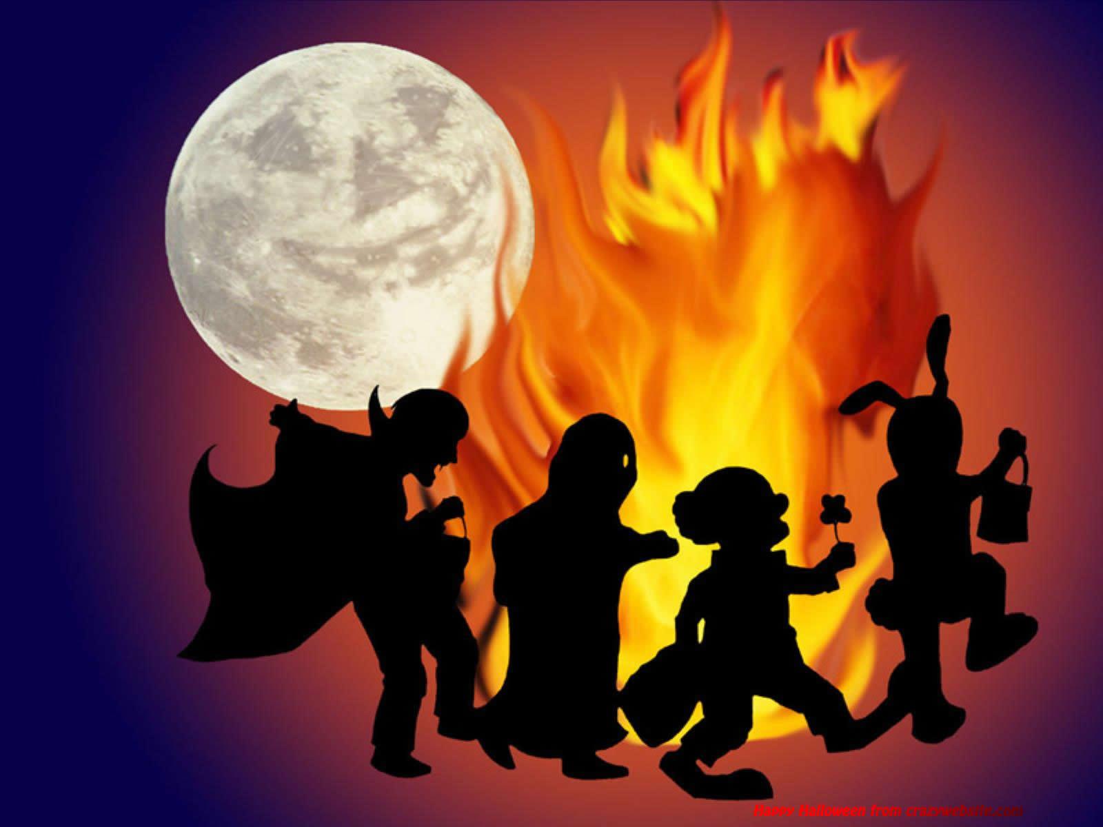 Horror clipart kids halloween #10