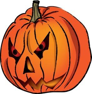 Creepy clipart jack o lantern Art Clip Clipart Scary Free