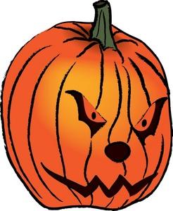 Horror clipart pumpkin Free Free Clip Panda Scary