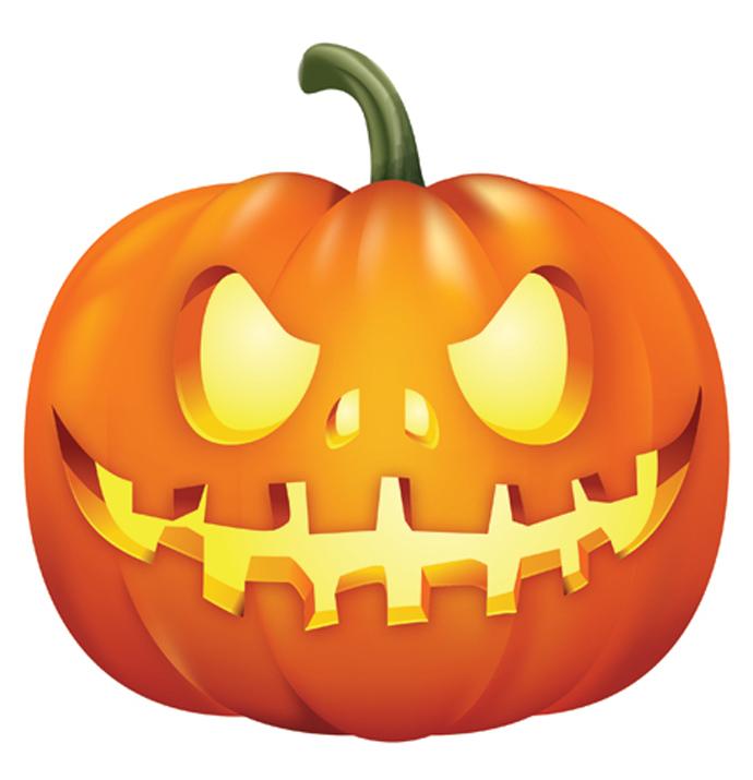 Horror clipart pumpkin Horror Gallery Holidays Bing Illustration