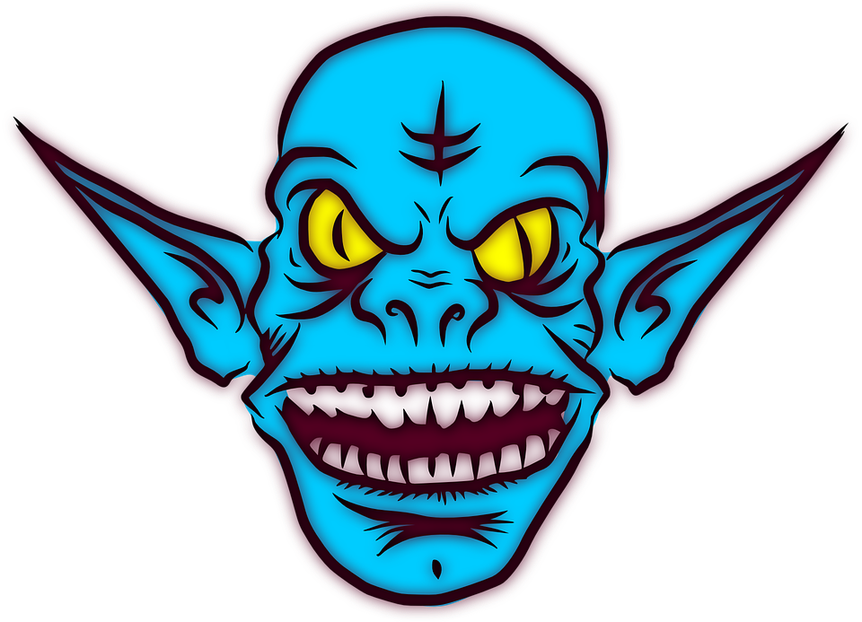 Alien clipart mean monster Up Zombie Shock Face Spooky