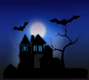 Horror clipart spooky House online clip vector Clip