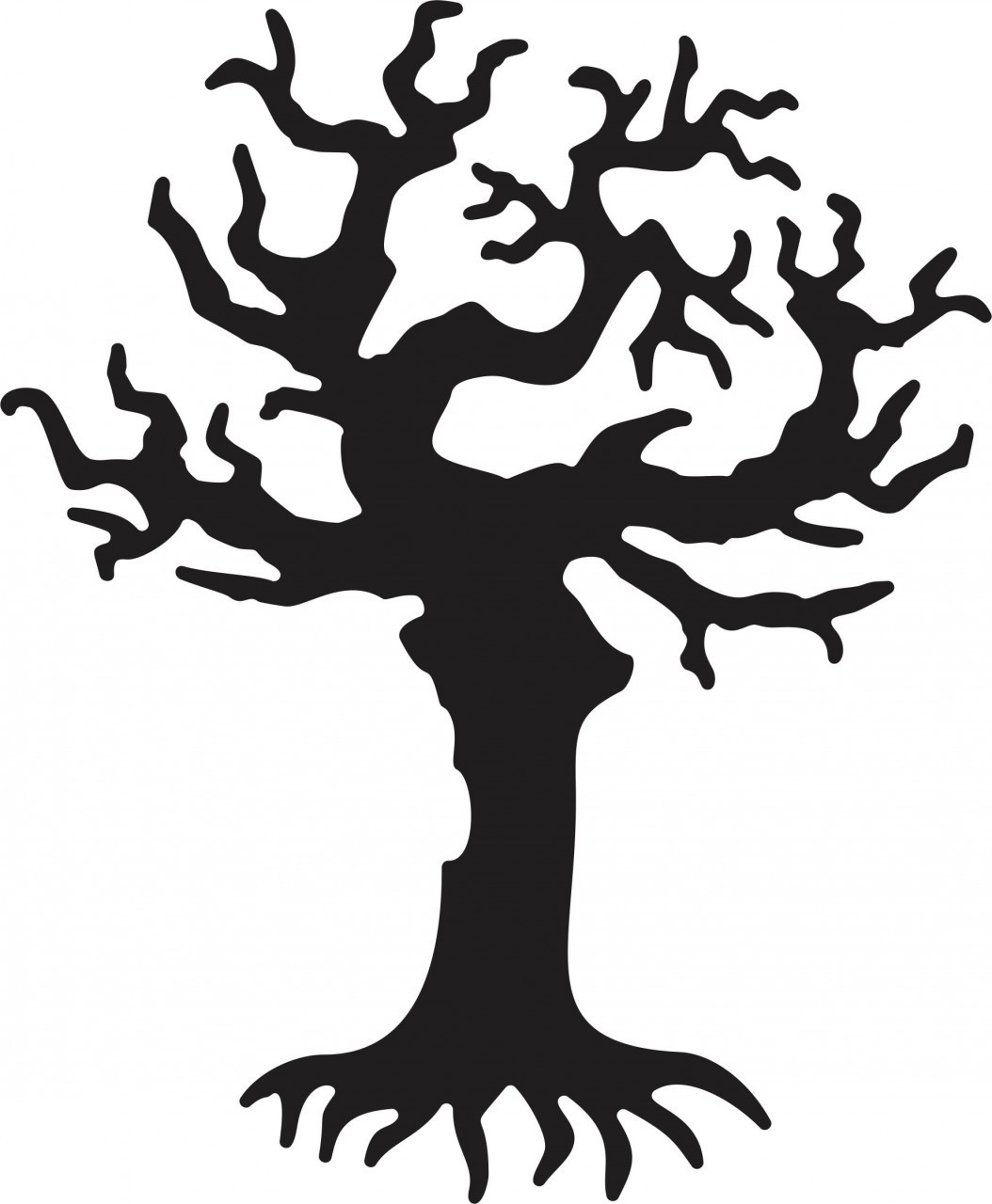 Horror clipart spooky tree Free Tree Download Art on