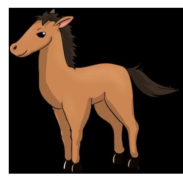 Horse clipart Clip to school clip Domain