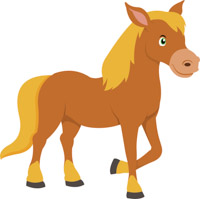 Horse clipart Illustrations Size: Graphics Free Clip