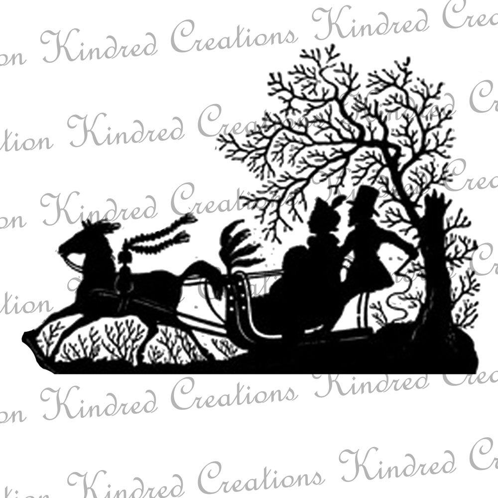 Winter clipart sleigh ride Clipart Horse Sleigh Clipart Ride