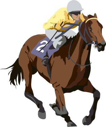 Horse Racing clipart Horse Image Horse Racing Art