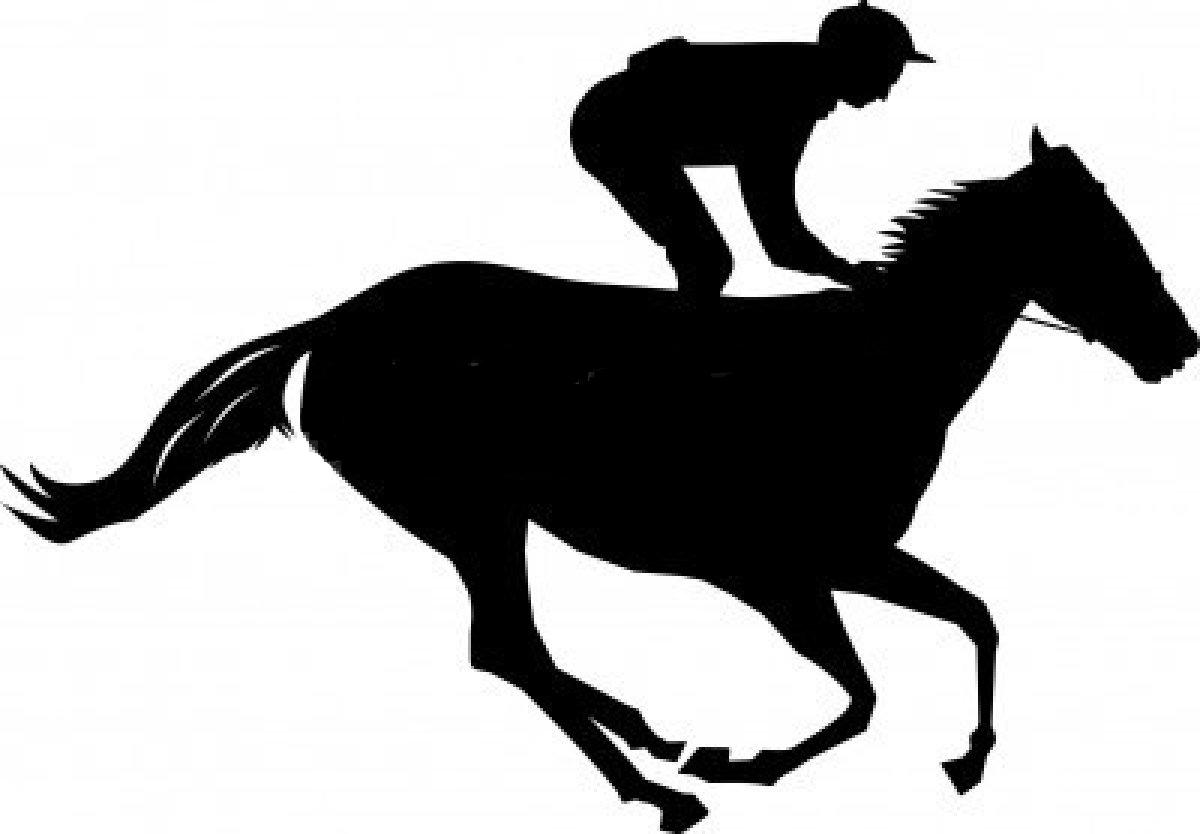 Horse Racing clipart #14