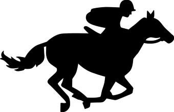 Horse Racing clipart #13