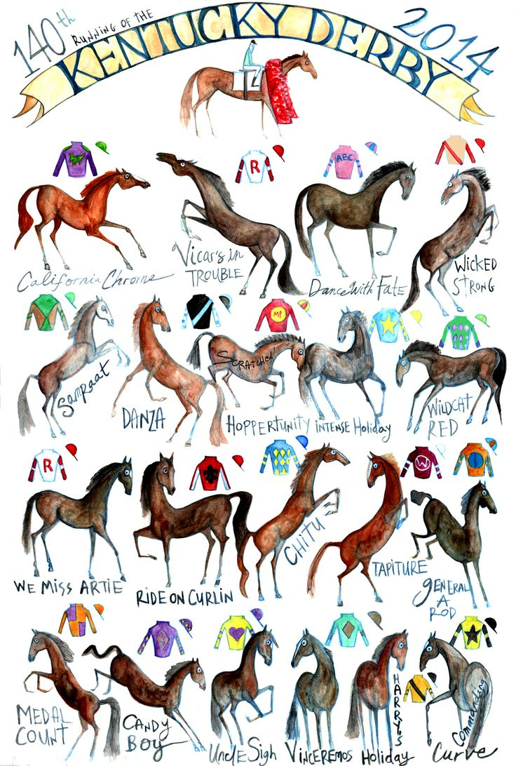 Horse Racing clipart animal tail #13